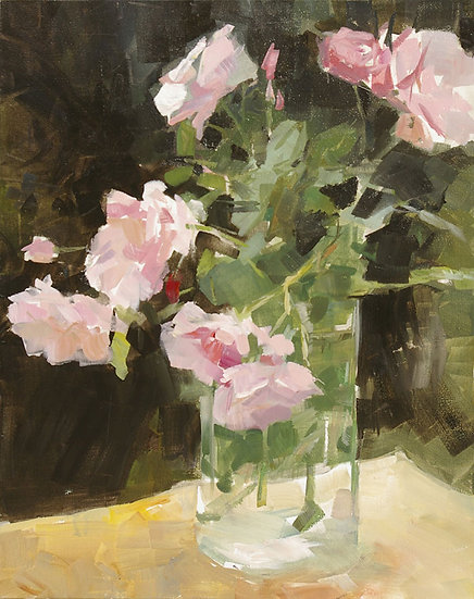 «Bouquet de roses au Moulin»