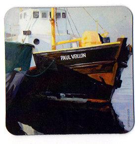 """Magnet carré """"Le Paul Veillon"""""""