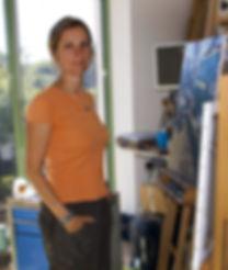 Goineau, landscape painter, peintre de paysages.