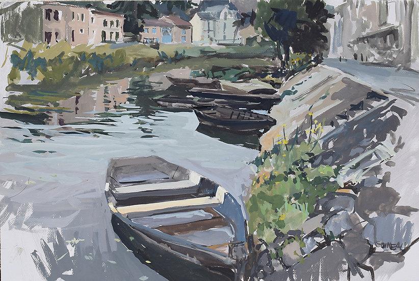 Barques à Coulon