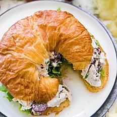Gourmet Chicken Salad Croissant  Platter