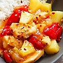 Sweet Fire Chicken and Pineapple