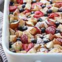 French Toast & Berry Casserole