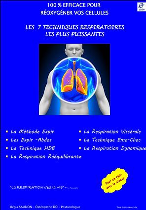 Les 7 techniques respiratoires   Cybelplace