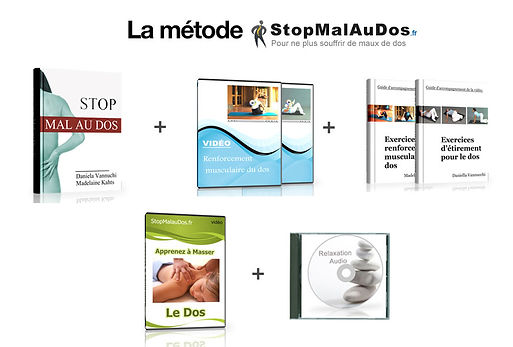 Stop mal au dos | Cybelplace