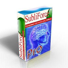 Subliforce, logiciel de programmation subliminale | Cybelplace