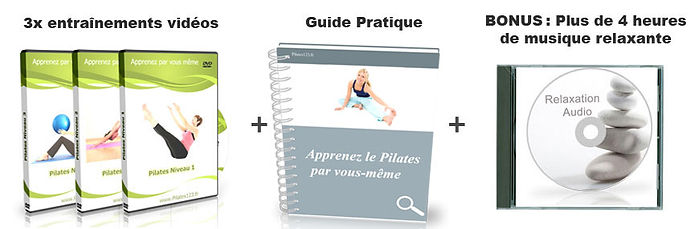 Pilates 1, 2, 3 | Cybelplace