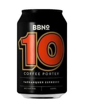 10 Coffee Porter Yacuanquer Espresso | 9.0% | Porter