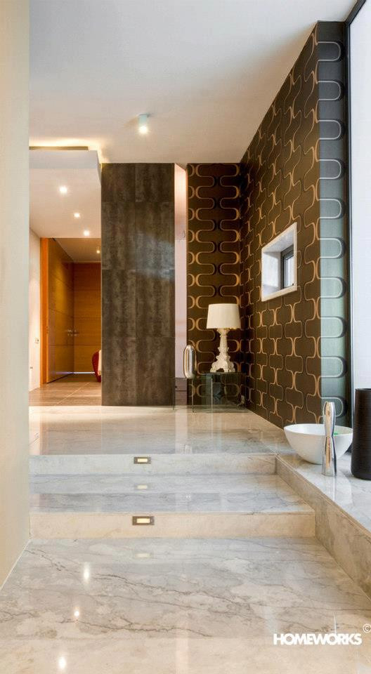 Hallway of Apartment in Malta
