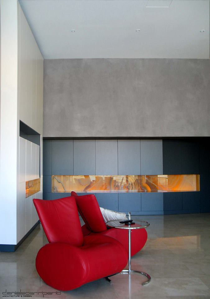 Wall feature in Apartment