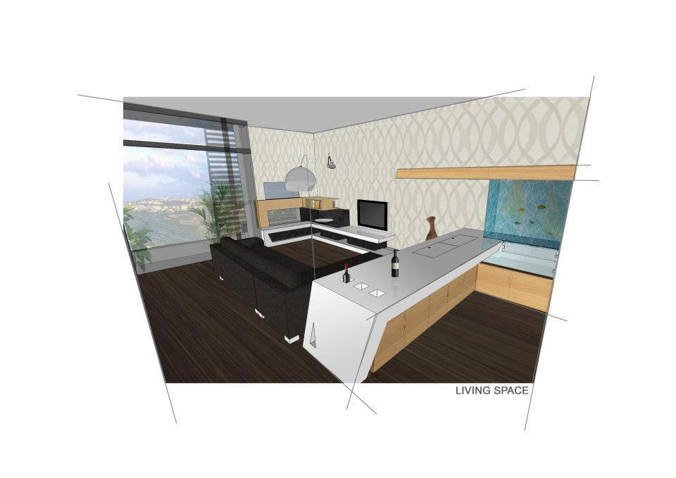3D Render of Apartment in Malta