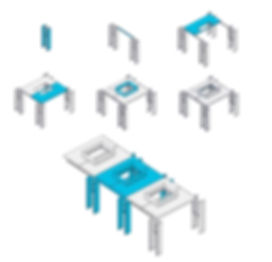 Kit-of-Parts - prefab - modular building - repeatable building components in Industrialized Construction