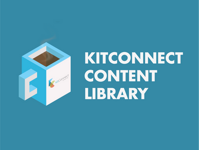 How is the KitConnect Content Library different from other libraries out there?
