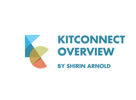 KitConnect Overview with Shirin Arnold