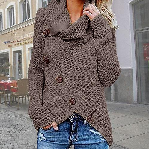2021 Vintage Oversize Sweaters Women