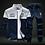 Thumbnail: 2020 New Men Sets Fashion Sporting Suit Brand Patchwork Zipper Sweatshirt