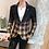 Thumbnail: Men Blazer 2020 Spring New Color block Plaid Blazer Men Slim Casual Man Blazers