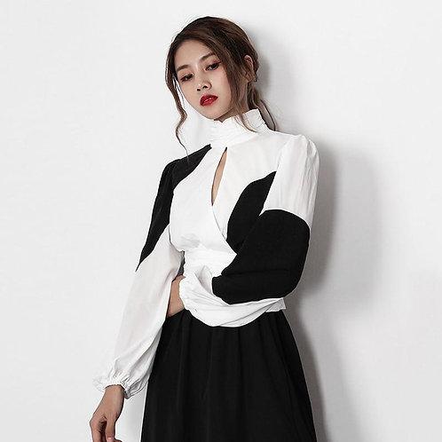 Ayaka Turtleneck Long Sleeve Shirt