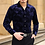 Thumbnail: Spring Summer Thin New Flannel Designer Slim Fit Mens Casual Turn- Down Collar