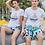 Thumbnail: 2021 Men's Swim Trunks Quick Dry Athletic Swimwear Shorts