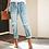 Thumbnail: Vintage Ladies Boyfriend Jeans for Women Plus Size XXL High Waist Slim Denim