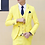Thumbnail: 3PC Suit Men Brand New Slim Fit Business Formal Wear Tuxedo High Quality Wedding