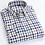 Thumbnail: England Style Plaid Checkered Cotton Shirts Single Patch Pocket Long Sleeve