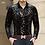 Thumbnail: Mu Yuan Yang New Men Long Sleeved Shirts With High Quality Flannel Black Shirt