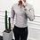 Thumbnail: High Quality Men Shirt Long Sleeve Solid Formal Business Shirt Slim Fit Brand