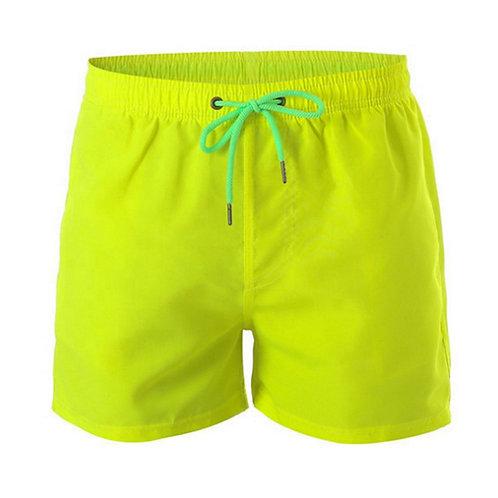 LW-STK001 Men Clothing Summer Beach Drawstring Solid Colors Swim Trunks