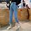 Thumbnail: Jeans Women High Quality Denim Long Trousers Streetwear Korean Style Harajuku