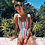 Thumbnail: Solid One Piece Swimsuit 2020 Women New Swimsuits Backless