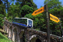 القطار الجبلى جزيرة بينانج