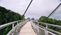 الجسر المعلق جزيرة لنكاوى Langkawi Sky Bridge