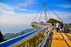 الجسر المعلق جزيرة لنكاوى