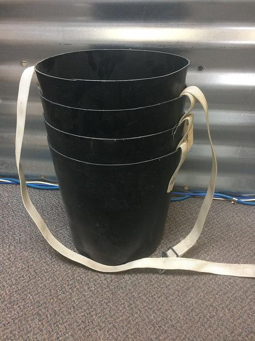 """A2089A 10""""x3'  Plastic Discharge Spout"""