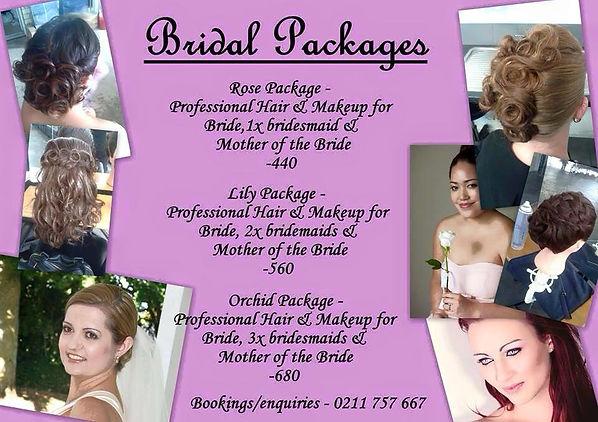 Hair & Makeup Bridal Packages Bay of Plenty,Waikato