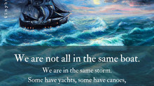 August Message: Riders on the Storm
