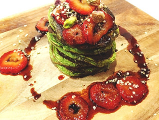 Sweet Spinach Pancakes