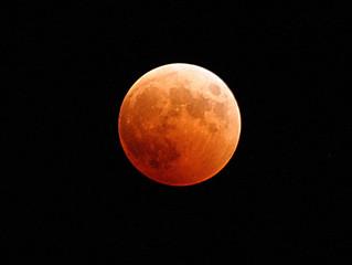Longest Lunar Eclipse joined by Mars