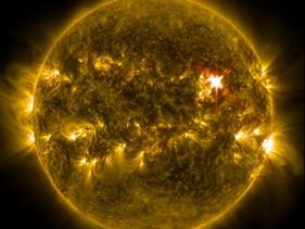Solar flare booster shot