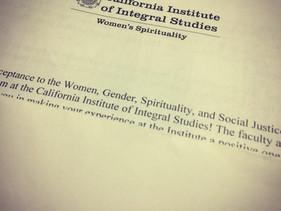 Women, Gender, Spirituality & Social Justice
