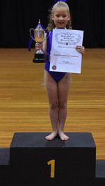 Sam - 6 Year National  Champion Girl 2016