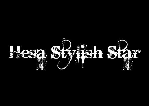 Hesa Stylish Star - White & Black.png