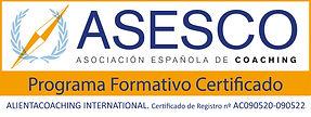 ALIENTACOACHING INTERNATIONAL Logo Certi