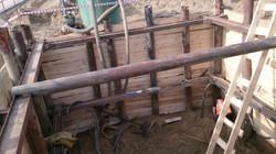 Шахты для продавливания трубы D1200