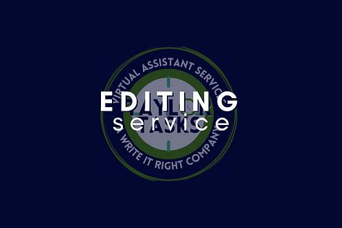 General Editing