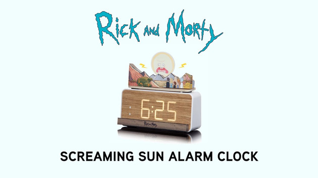 Rick and Morty Screaming Sun Alarm Clock Product Video