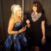 Bianca Ciotti interviewing Ashley Eckstein