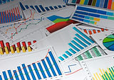 Many graphs. (vertical) Scattered graphs